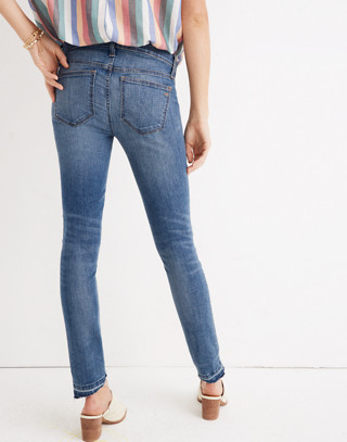 Maternity Skinny Jeans in Everton Wash: Adjustable Edition in everton image 3