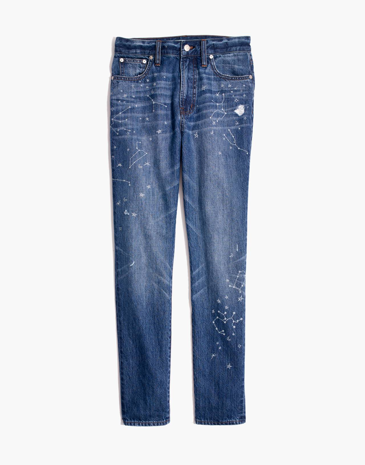 The Tall Perfect Vintage Jean: Comet Edition in jubilee wash image 4