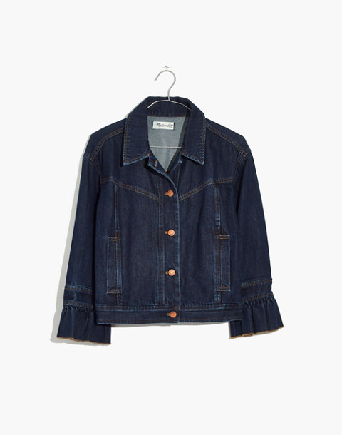 Madewell x Karen Walker® Muster Denim Jacket in walker wash image 4