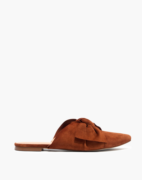 The Remi Bow Mule in maple syrup image 2