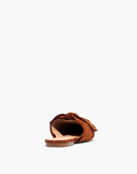 The Remi Bow Mule in maple syrup image 3