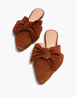 The Remi Bow Mule in maple syrup image 1