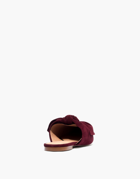 The Remi Bow Mule in pinot noir image 3