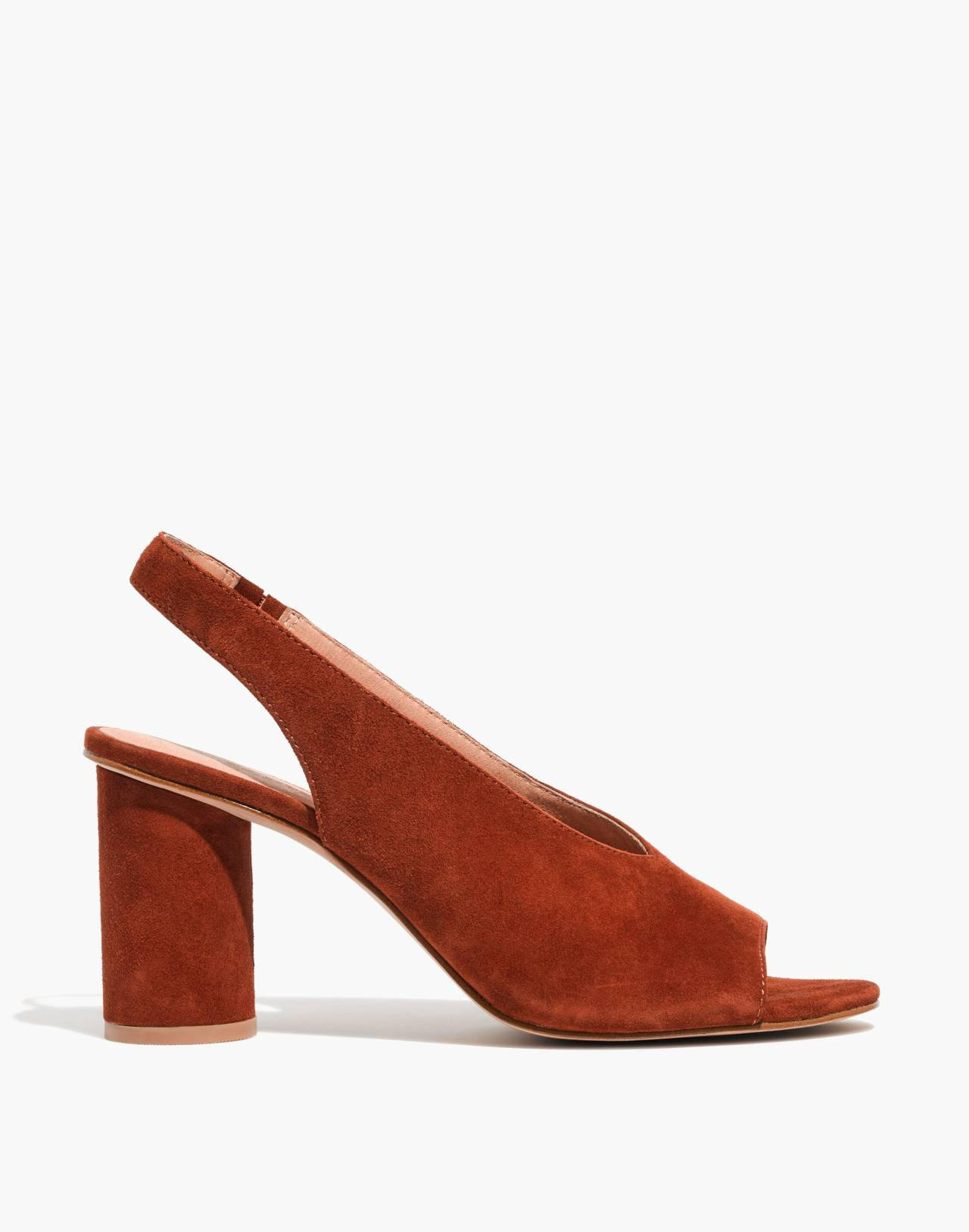 The Alana Slingback Sandal in maple syrup image 2