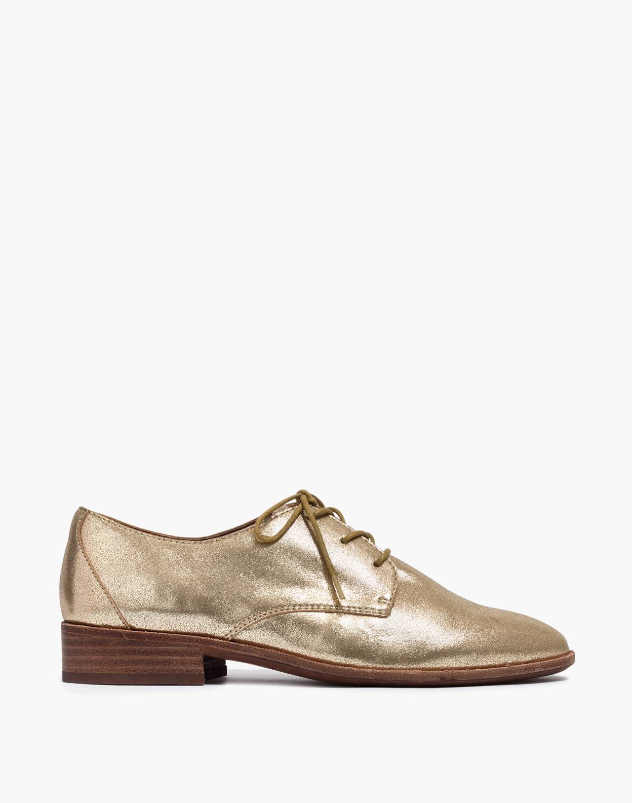 The Frances Oxford in Metallic in olive bronze image 2