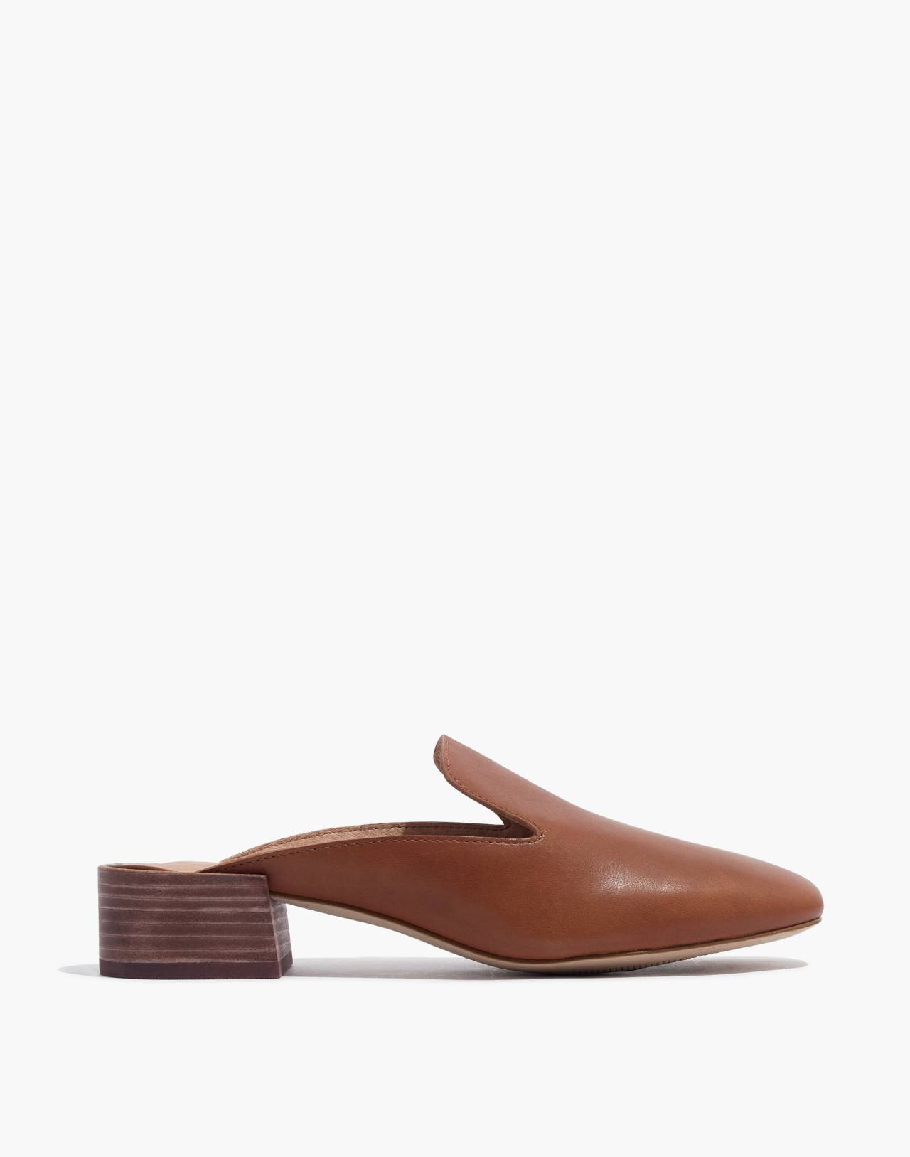 The Willa Loafer Mule in english saddle image 2