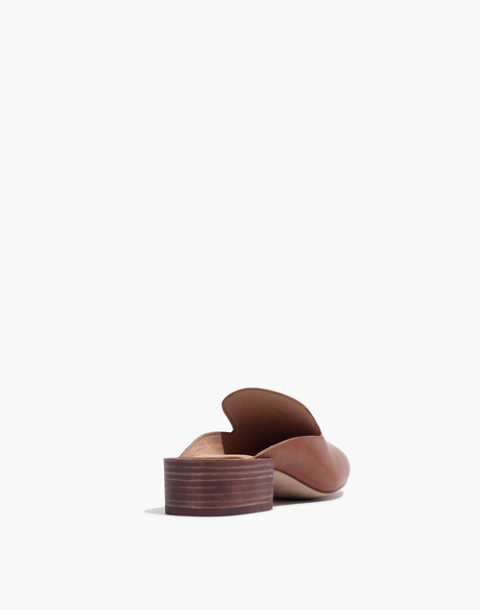 The Willa Loafer Mule in english saddle image 3
