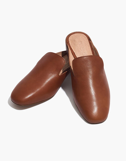 15c5fe6f209 The Willa Loafer Mule in english saddle image 1