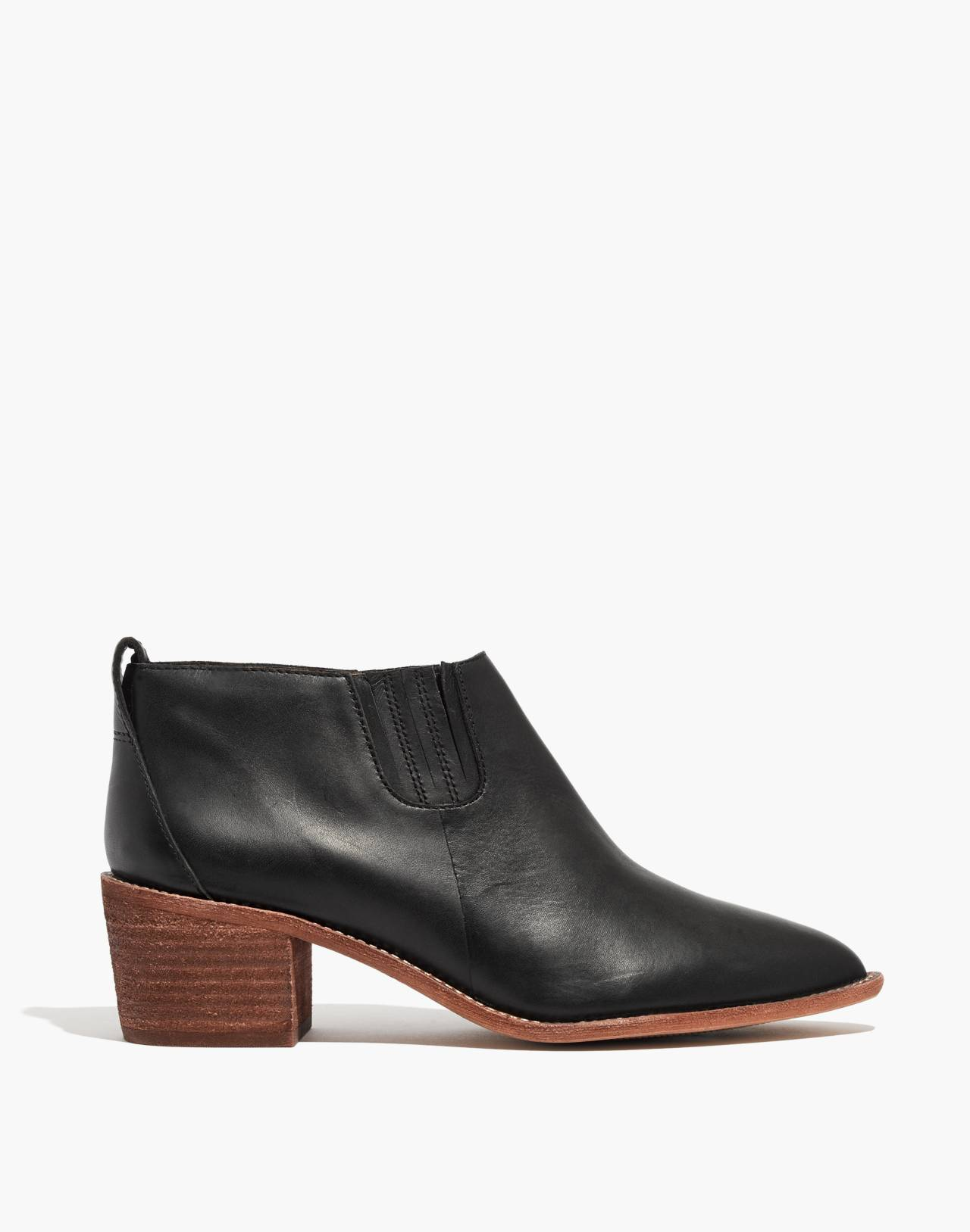 The Grayson Chelsea Boot in true black image 3
