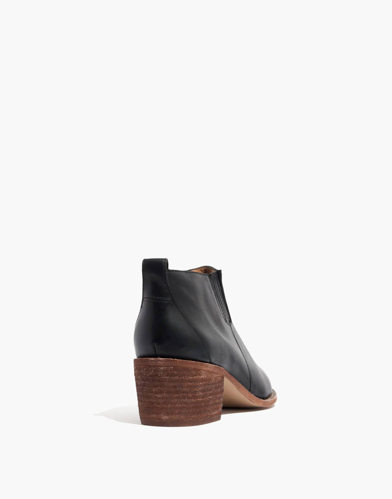 The Grayson Chelsea Boot in true black image 4