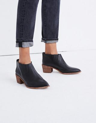 The Grayson Chelsea Boot in true black image 2
