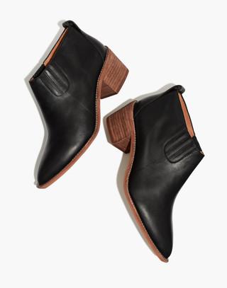 The Grayson Chelsea Boot in true black image 1