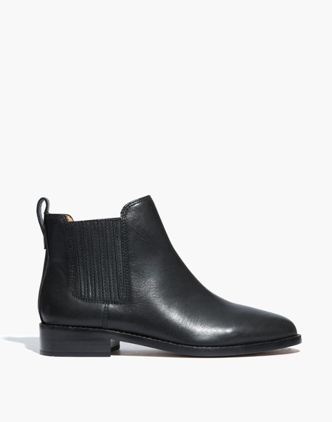 The Ainsley Chelsea Boot in true black image 2