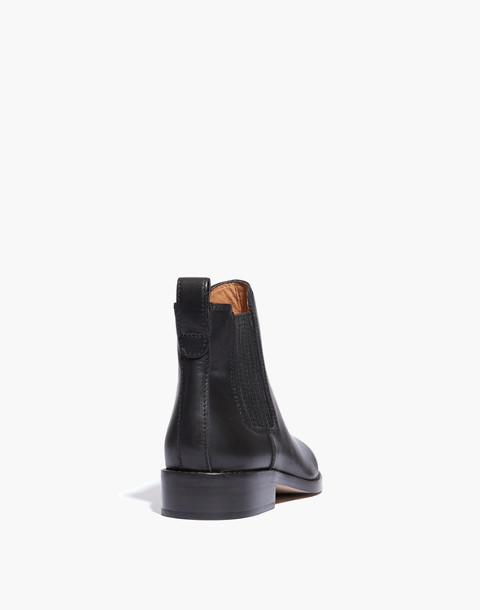 The Ainsley Chelsea Boot in true black image 3