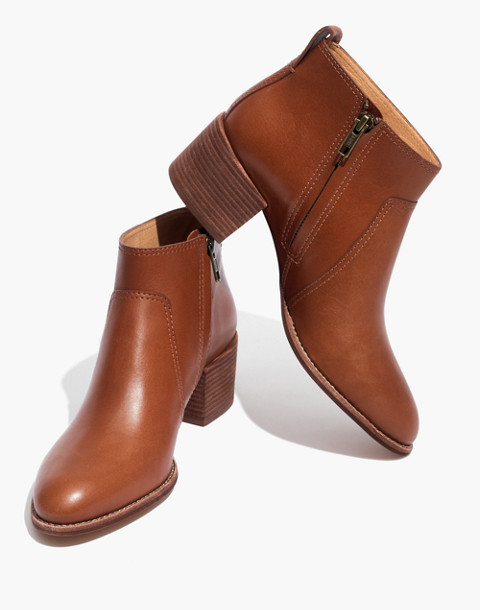 The Asher Boot in Leather in english saddle image 1