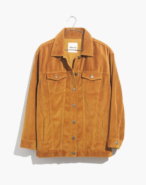 The Oversized Jean Jacket: Corduroy Edition