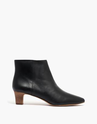 The Portia Boot in true black image 2