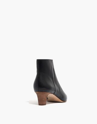 The Portia Boot in true black image 3