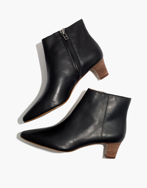 The Portia Boot in true black image 1
