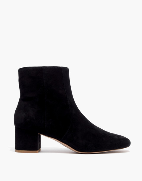 The Jada Boot in Suede in true black image 2
