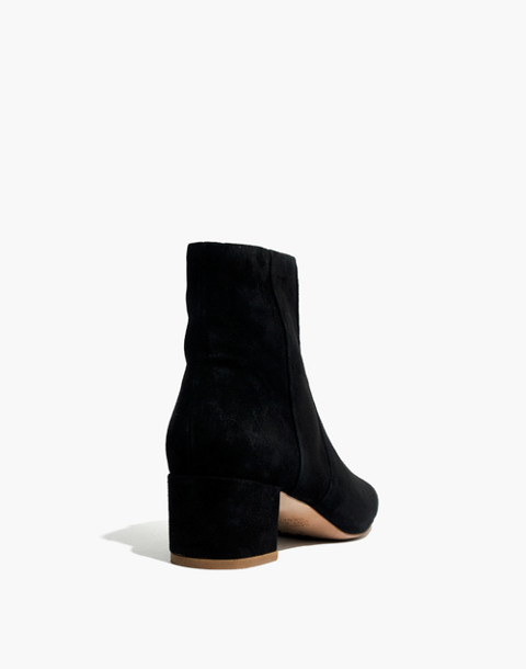 The Jada Boot in Suede in true black image 3