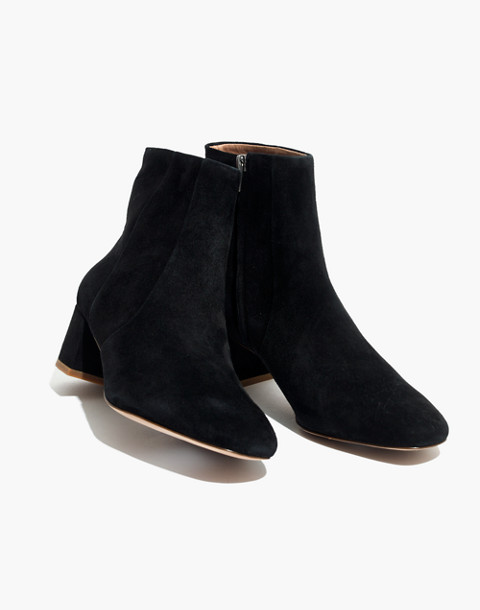 The Jada Boot in Suede in true black image 1