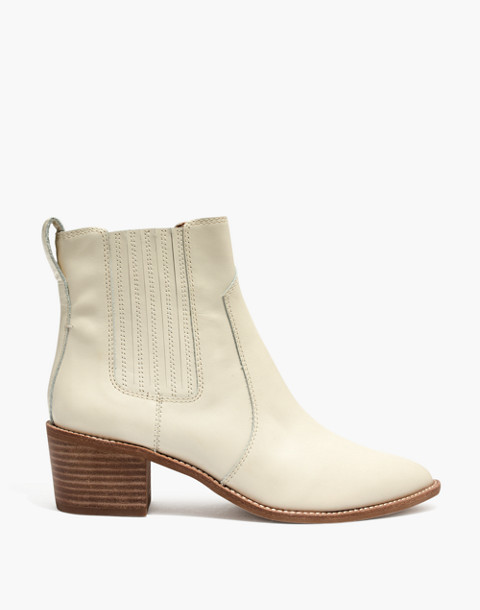 The Ramsey Chelsea Boot in Leather in vintage canvas image 2