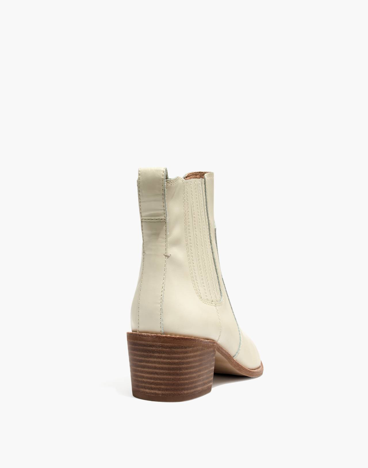 The Ramsey Chelsea Boot in Leather in vintage canvas image 3