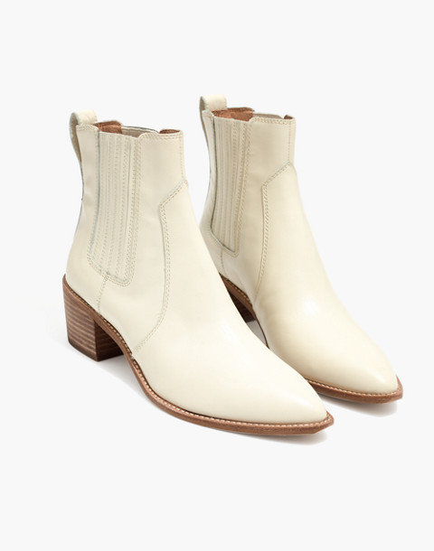 The Ramsey Chelsea Boot in Leather in vintage canvas image 1