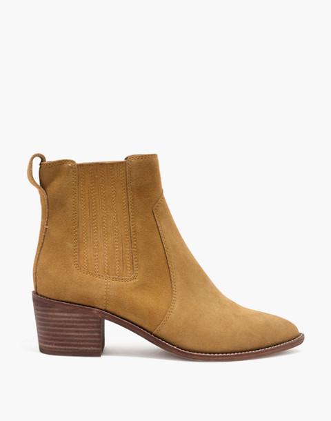 The Ramsey Chelsea Boot in Suede in acorn image 3