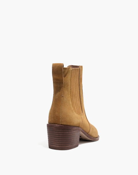 The Ramsey Chelsea Boot in Suede in acorn image 4