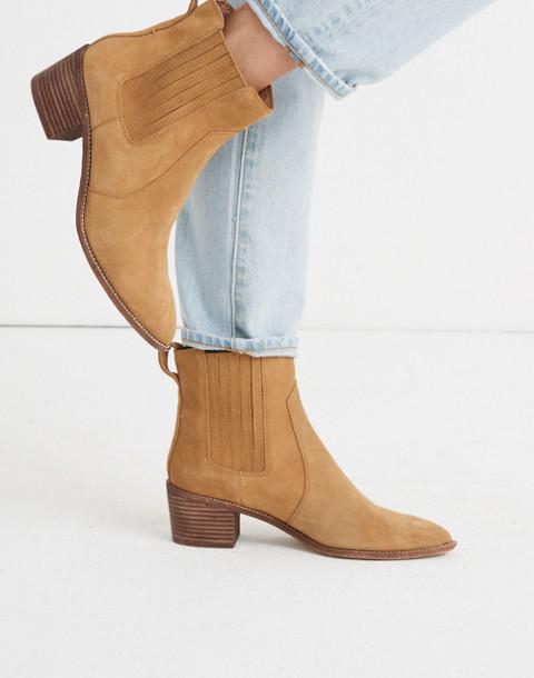 The Ramsey Chelsea Boot in Suede in acorn image 2