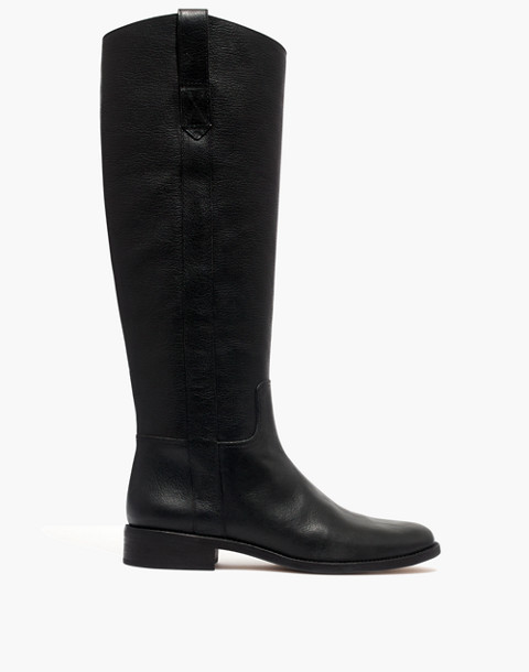 The Winslow Knee-High Boot in true black image 2