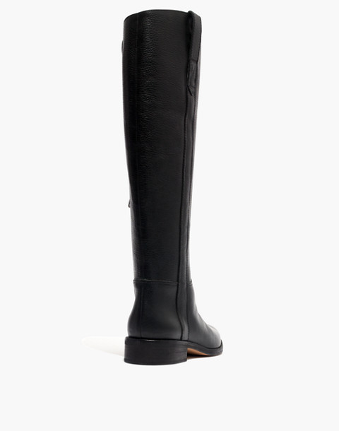 The Winslow Knee-High Boot in true black image 3