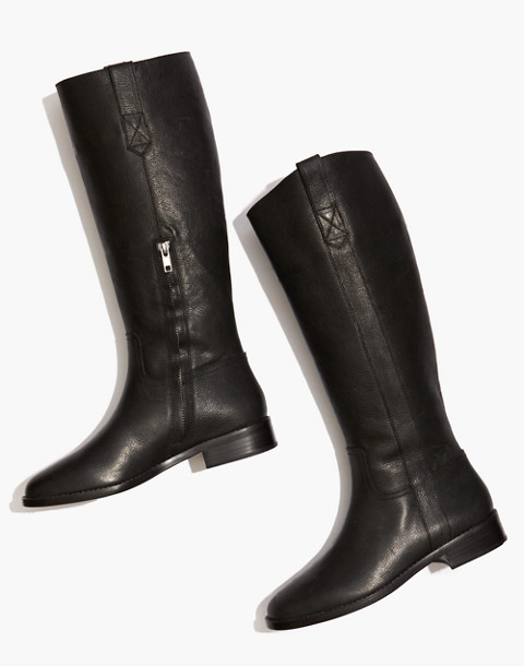 The Winslow Knee-High Boot in true black image 1