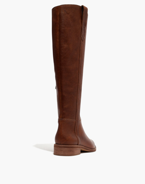 The Winslow Knee-High Boot in english saddle image 4