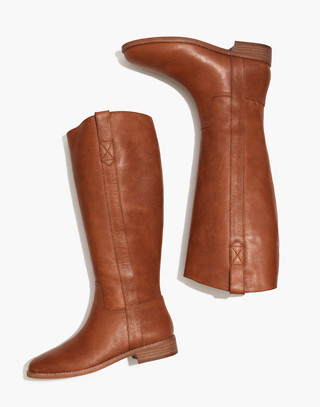 The Winslow Knee-High Boot in english saddle image 1