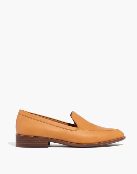 The Frances Loafer in amber brown image 3