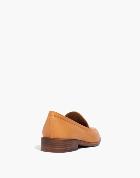 The Frances Loafer in amber brown image 4