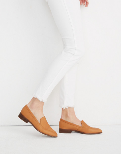 The Frances Loafer in amber brown image 2