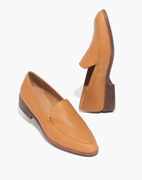 The Frances Loafer in amber brown image 1