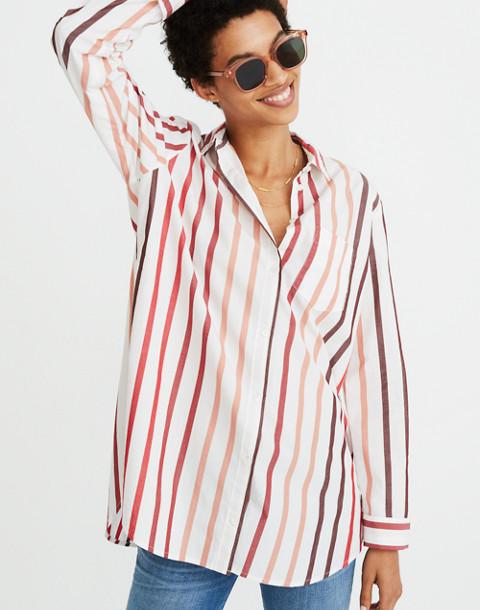 66e166cc394cd Oversized Ex-Boyfriend Shirt in Lorelei Stripe in cabernet image 1