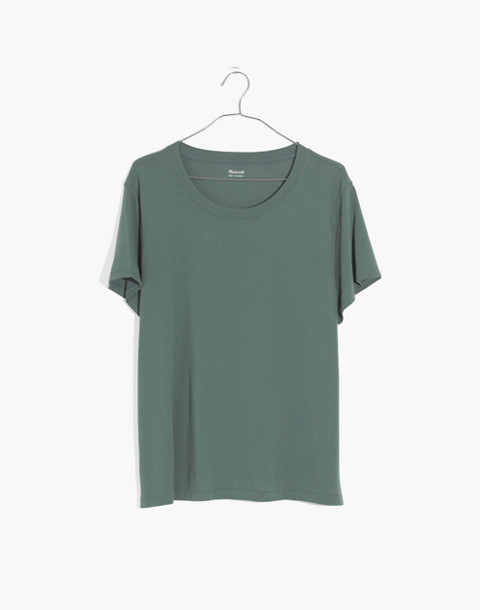 Northside Vintage Tee in architect green image 4