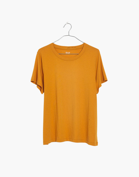 Northside Vintage Tee in raw amber image 1