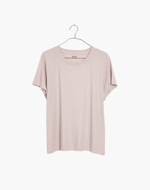 Northside Vintage Tee in wisteria dove image 1