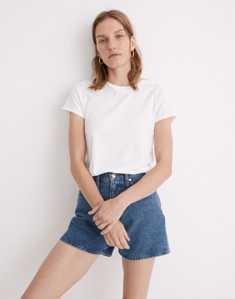 Northside Vintage Tee in white wash image 2