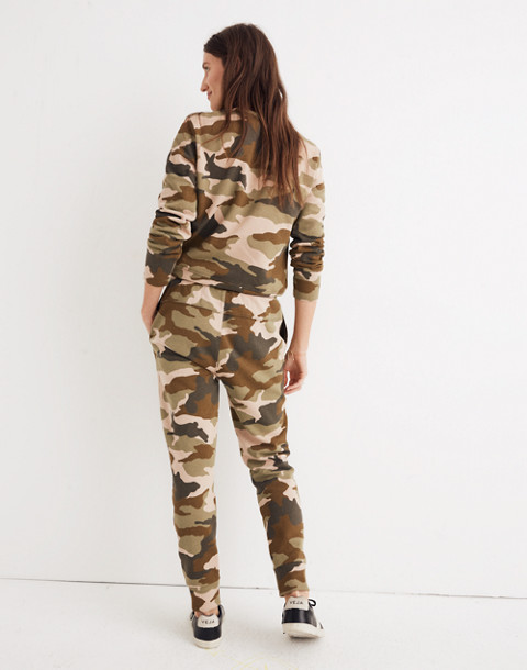 Cottontail Camo Sweatpants in bunny camo asparagus image 3