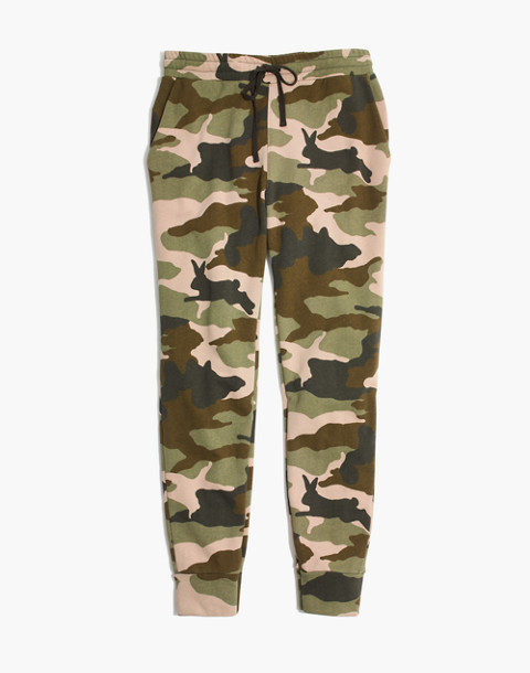 Cottontail Camo Sweatpants in bunny camo asparagus image 4