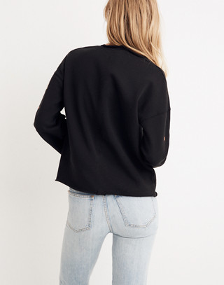 Starry Night Sweatshirt in classic black image 2