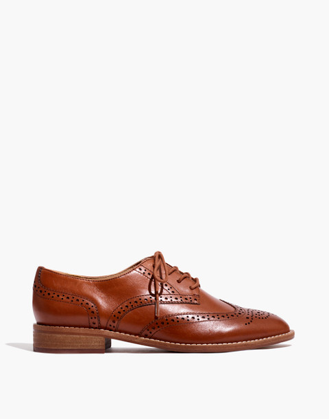 The Juliette Oxford in dark chestnut image 2